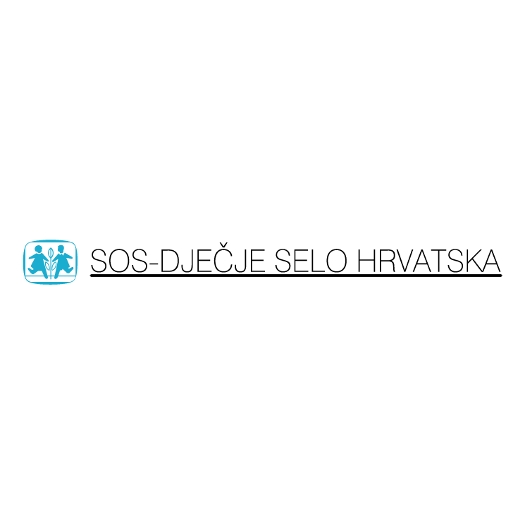 free vector Sos djecje selo hrvatska