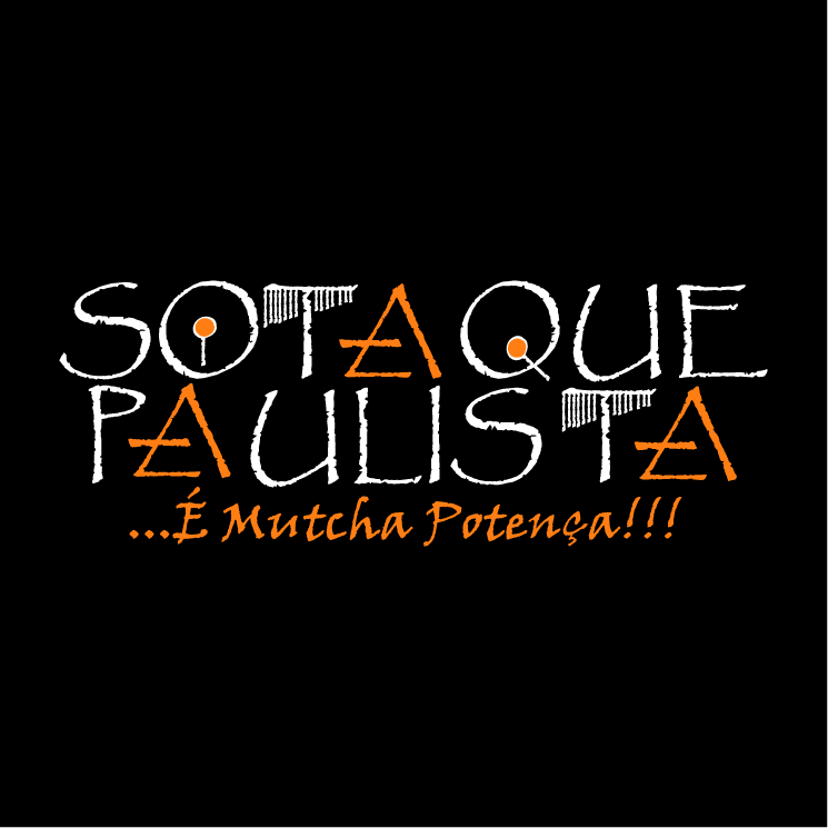 free vector Sotaque paulista 0