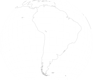 free vector South America Viewed From Space clip art