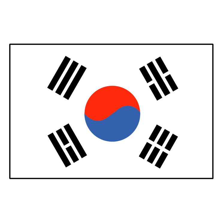 free vector South korea 0