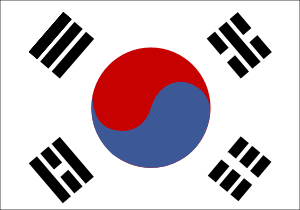 free vector South Korea clip art