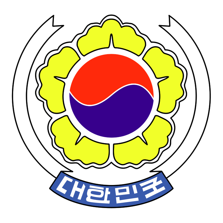free vector South korea