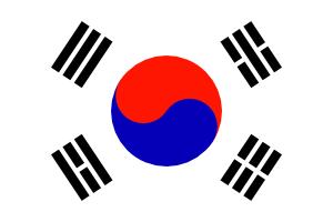 free vector South KoreaTaegeukgi clip art