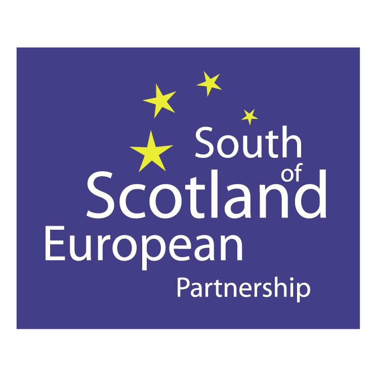 free vector South of scotland european partnership
