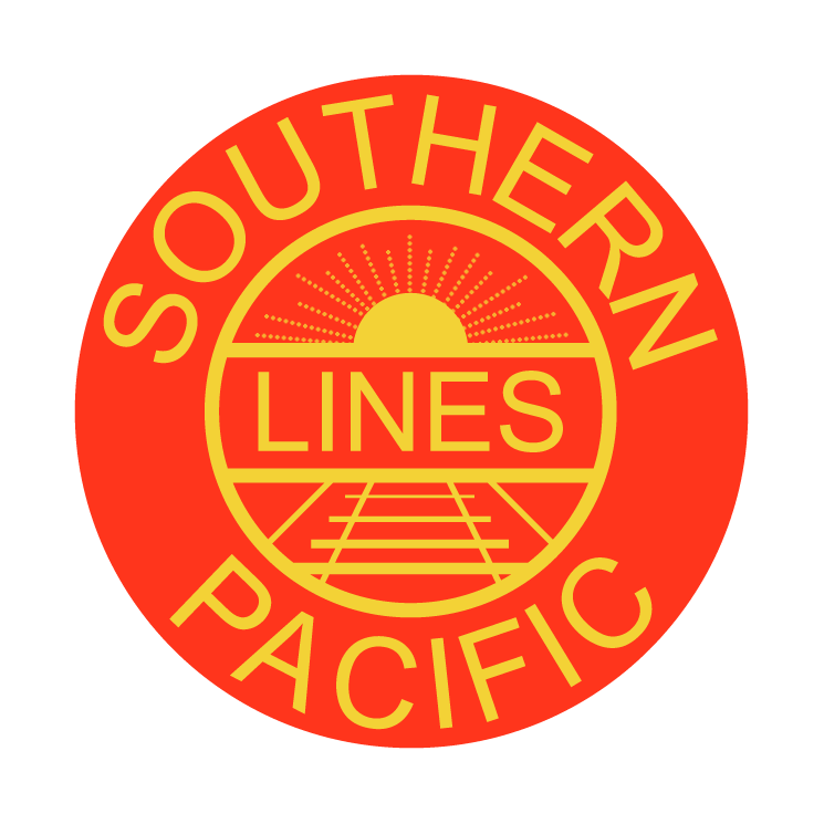 free vector Southern pacific lines