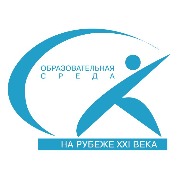 free vector Sovremennaya obrazovatelnaya sreda na rubeje xxi veka
