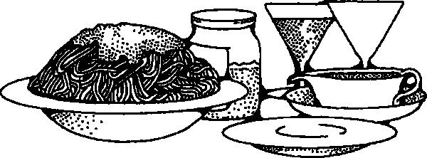 free vector Spaghetti clip art