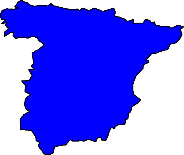 free vector Spain Peninsule clip art