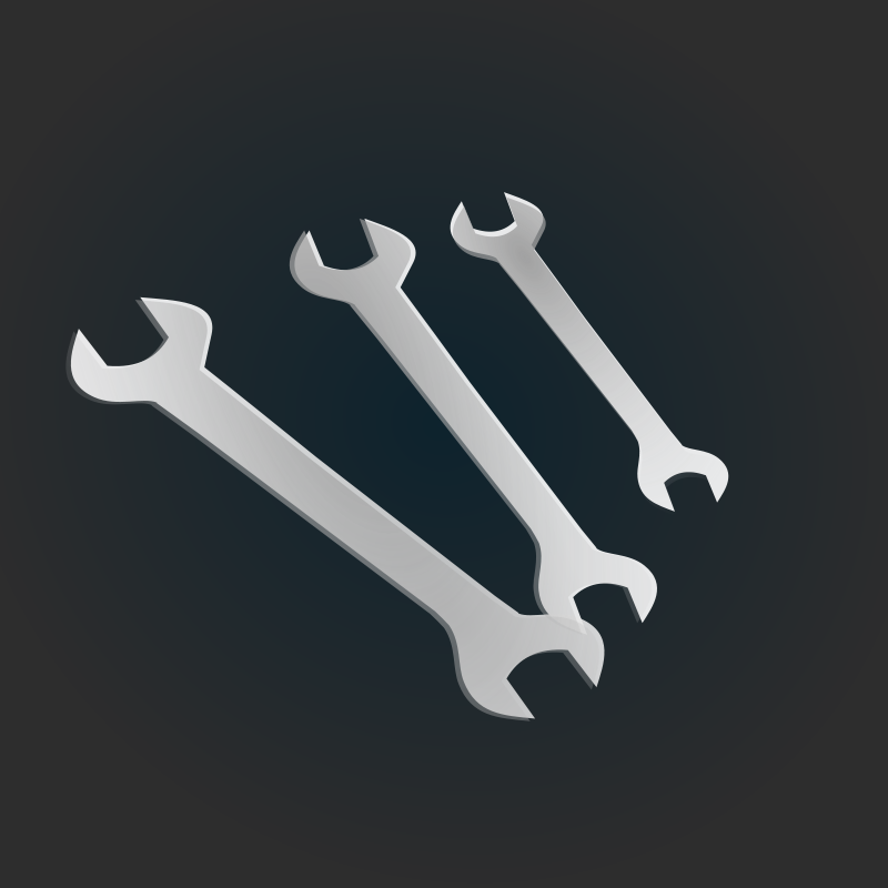 free vector Spanners icon
