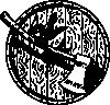 free vector Sparrow Axe Barrelhead clip art