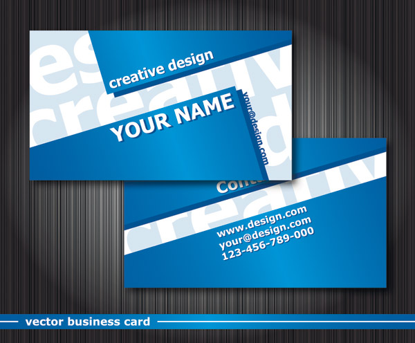 Special business card template vector free vector 4vector for Special business cards