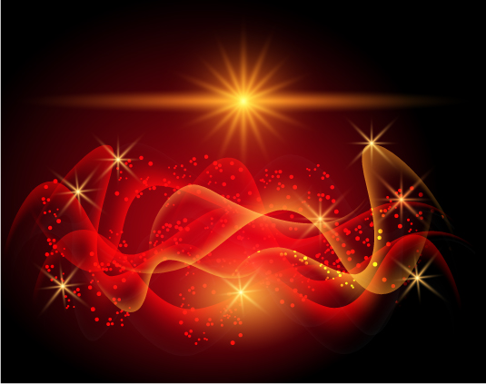 free vector Special hyun red halo background 01 vector