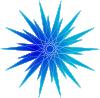 free vector Special K Blue Star clip art
