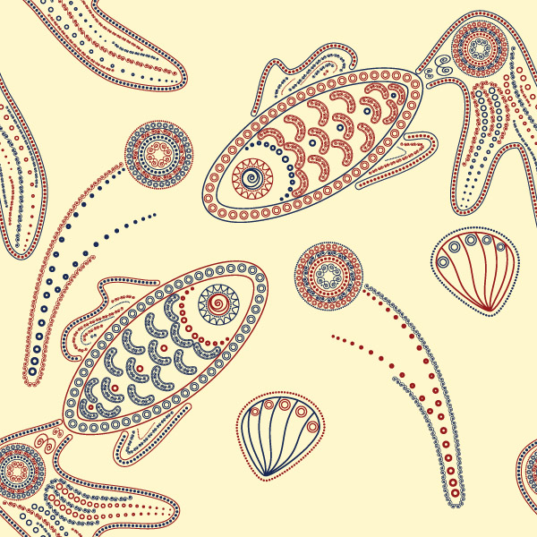 free vector Special kind of animal design pattern vector 3