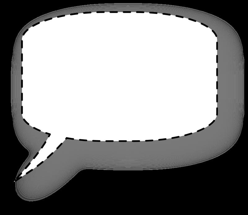 free vector Speech bubble