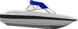 free vector Speed Boat clip art