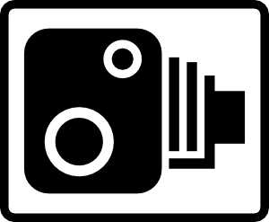 free vector Speed Camera Sign clip art