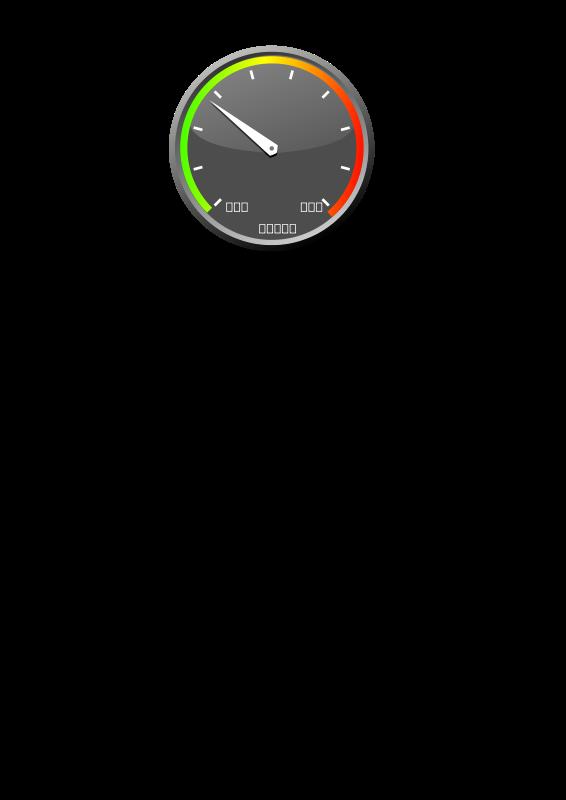 free vector Speedmeter