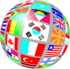 free vector Sphere Flags clip art