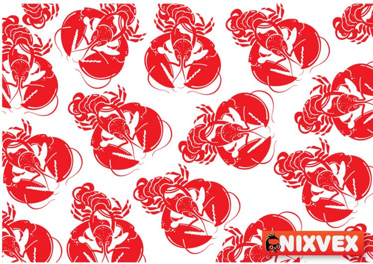 free vector Spicy crawfish vector