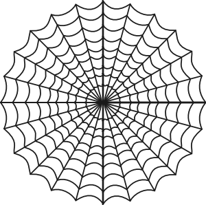 free vector Spiders Web clip art