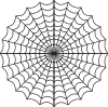 free vector Spiders Web clip art