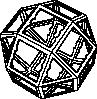 free vector Spike Star Frame clip art