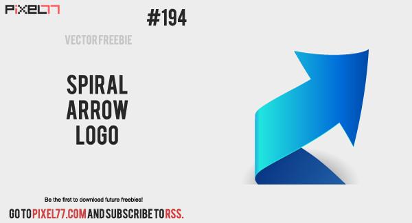 free vector Spiral Arrow Logo