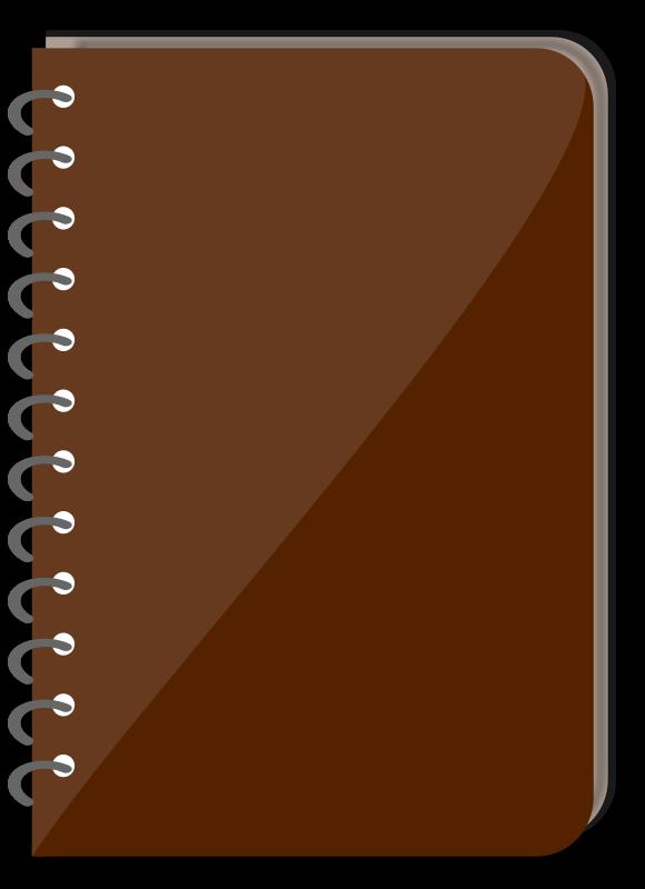 free vector Spiral Bound Book