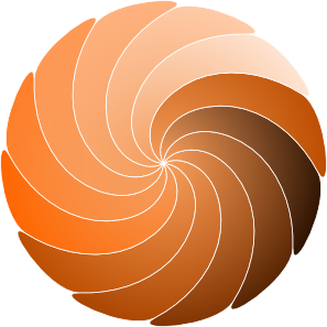 Spiral Shape clip art Free Vector / 4Vector