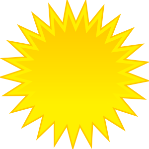 free vector Spite Sun clip art