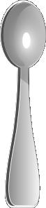 free vector Spoon clip art