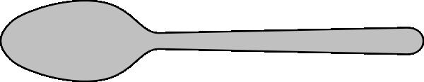 free vector Spoon Silverware clip art