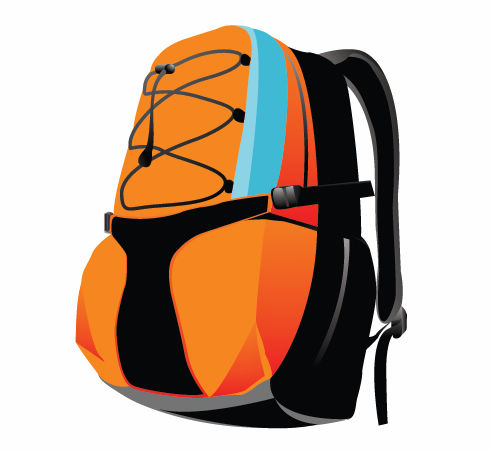 free vector Sport Backpack Vector