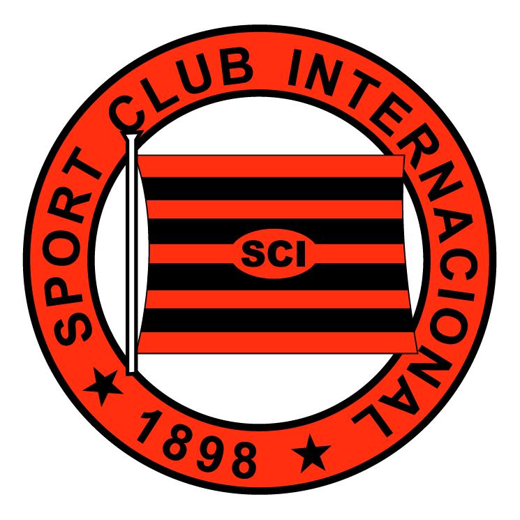 free vector Sport club internacional de sao paulo sp