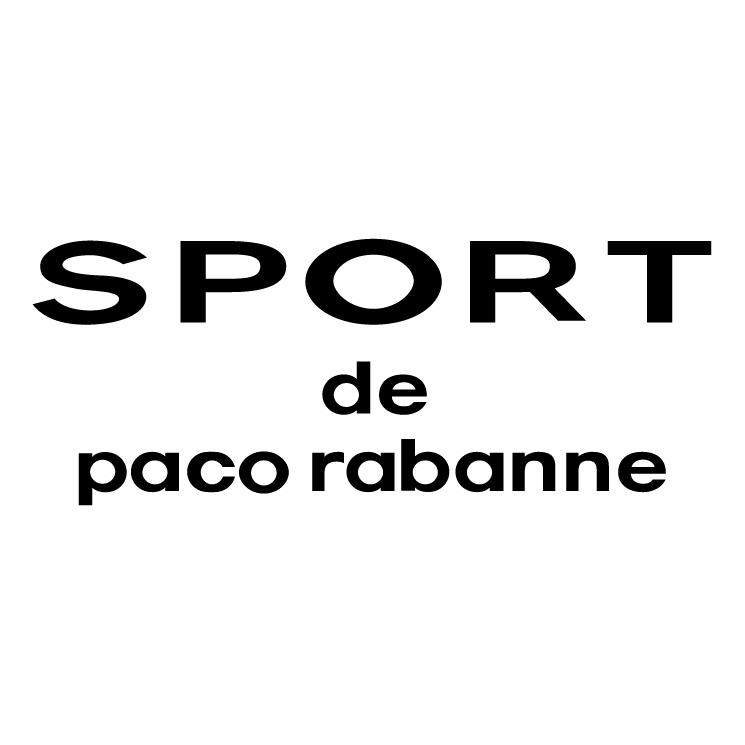 free vector Sport de paco rabanne