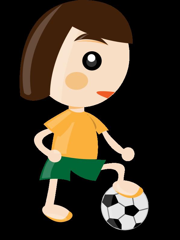 free vector Sport girl
