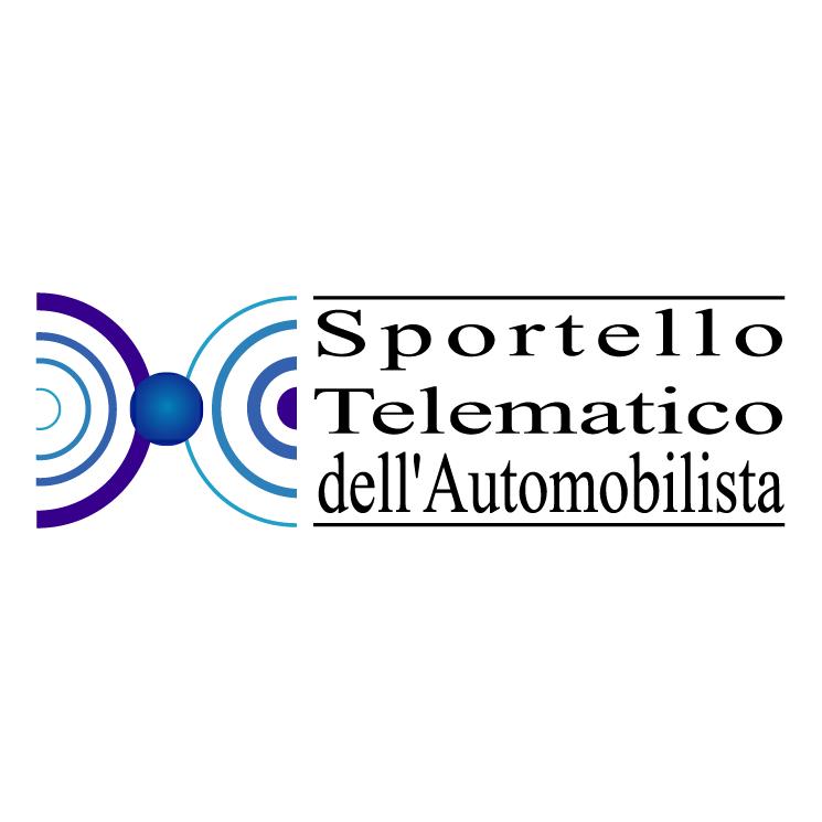 free vector Sportello telematico dellautomobilista