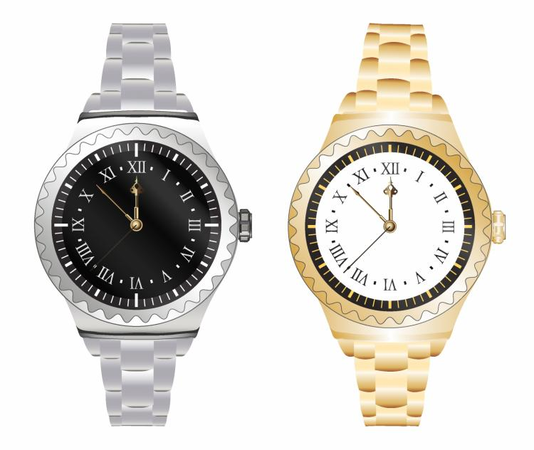 free vector Sporting wristwatch