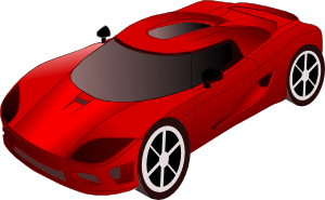 free vector Sports Car clip art