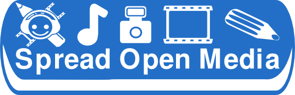 free vector Spreading Open Media clip art