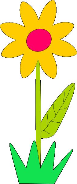 spring flower clip art free vector 4vector rh 4vector com free spring flower black and white clipart free spring flowers clip art images