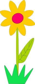 free vector Spring Flower clip art