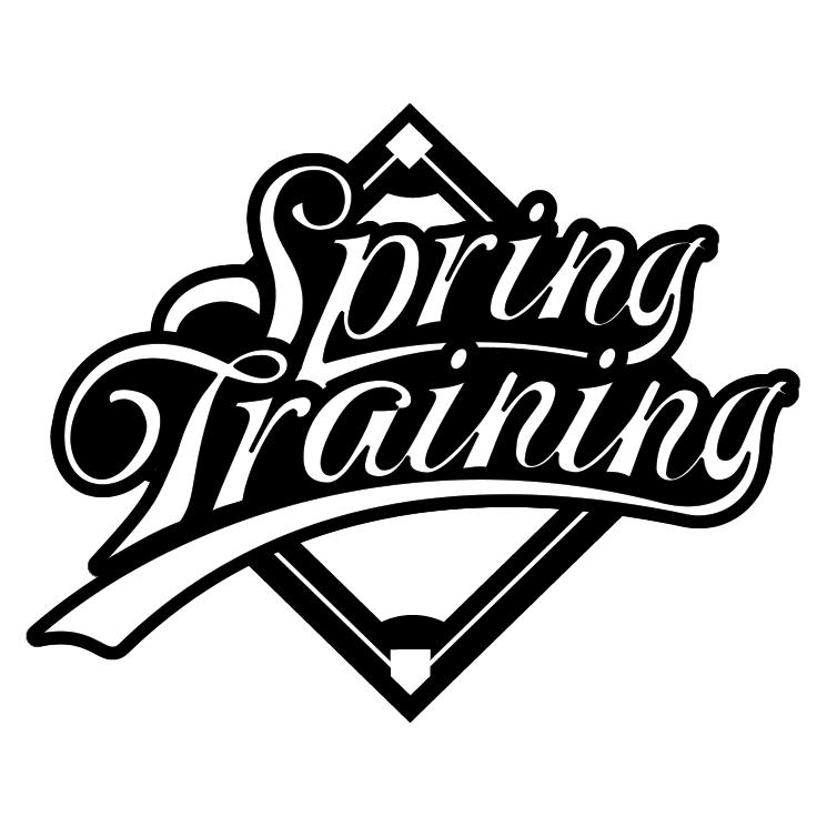 free vector Spring training 0