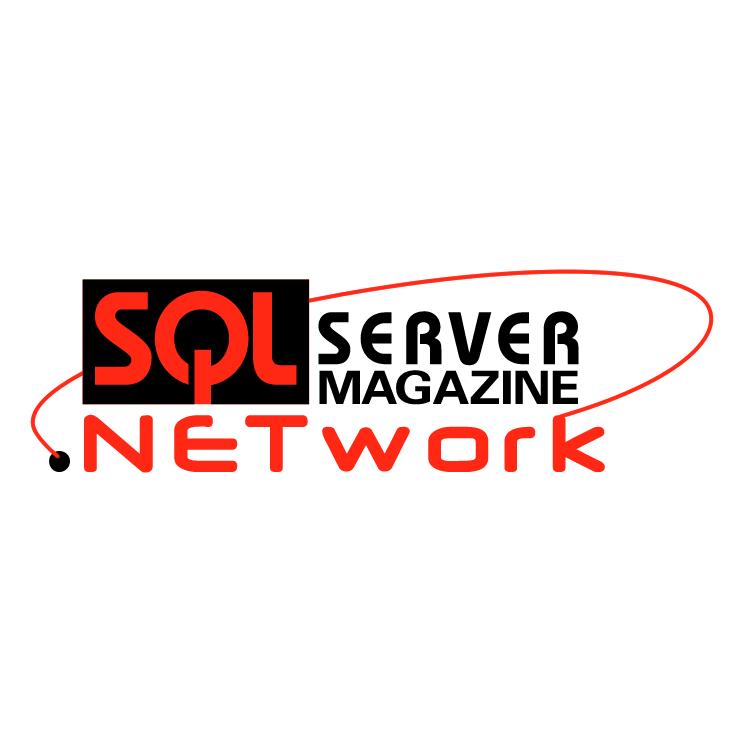 free vector Sql server magazine network
