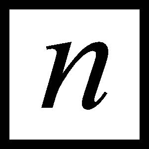 free vector Square N clip art