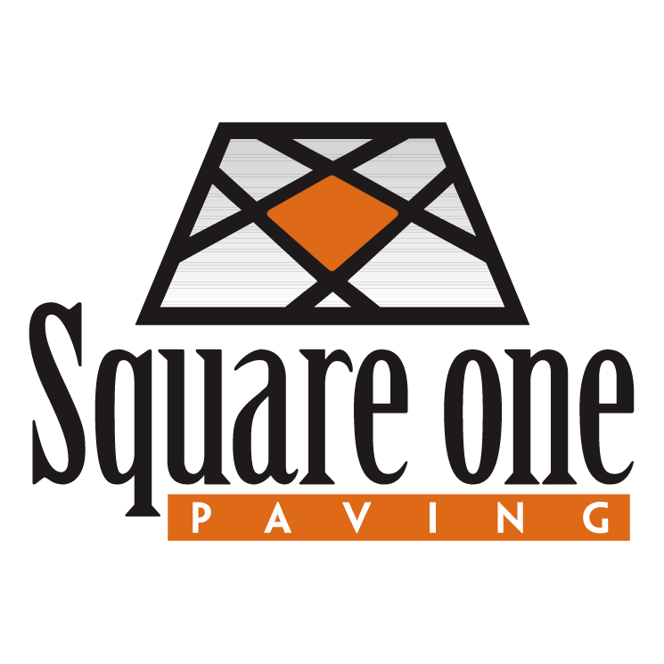 free vector Square one paving 0