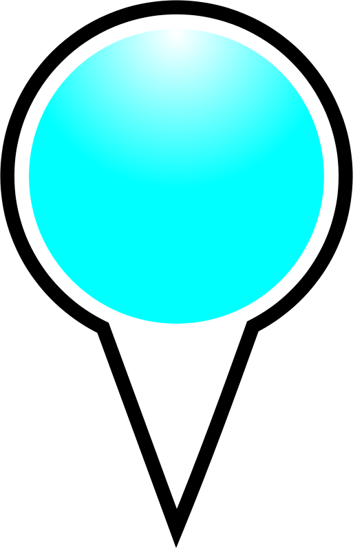 free vector Squat-marker-cyan