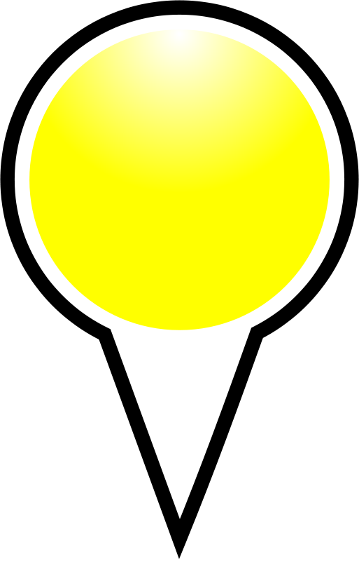 free vector Squat-marker-yellow