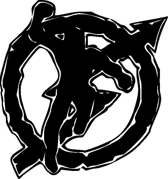 free vector Squatter Symbol clip art